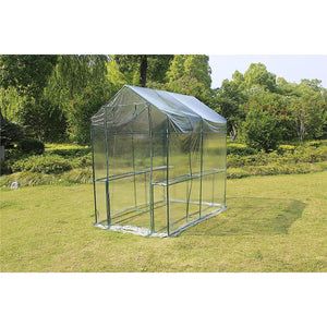Walk In Greenhouse Tunnel Plant Garden Storage Sheds Green House