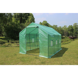 3.5X2X2M Greenhouse Walk In Tunnel Plant Garden Storage Grow Sheds Green House