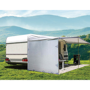 Pop Top Caravan Privacy Screen Sun Shade Side Extension 2.1 x 1.8m