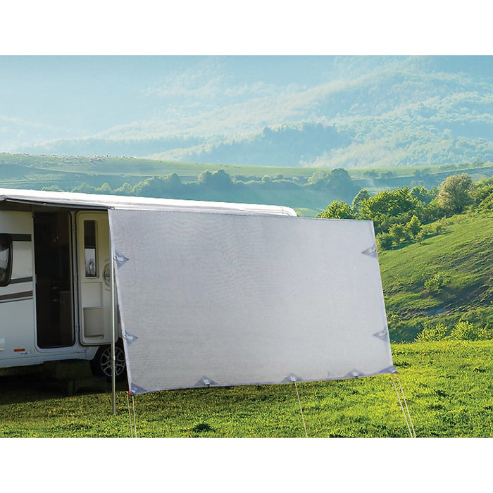4.3 x 1.8m Caravan Privacy Screen Side Roll Out Awning