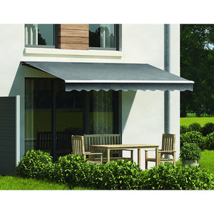 4.0 x 2.5m Outdoor Folding Arm Retractable Sunshade Awning