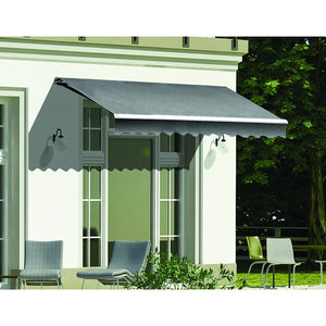 3.0 x 2.5m Outdoor Folding Arm Retractable Sunshade Awning