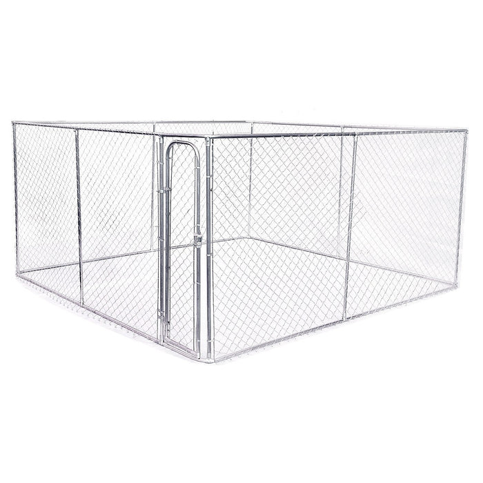 4 x 4m Pet Enclosure Dog Kennel Run Animal Fencing Fence