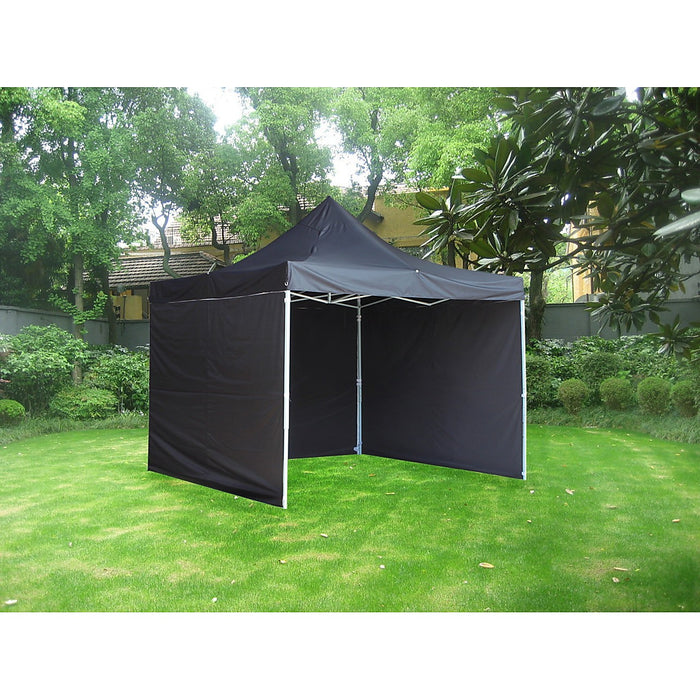 3x3m Popup Gazebo Party Tent Marquee - Black