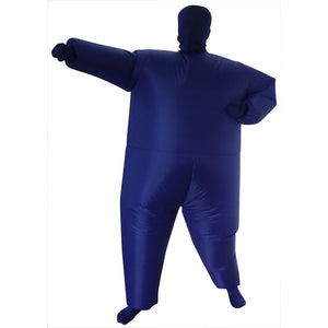 Inflatable Blue Fancy Dress Costume
