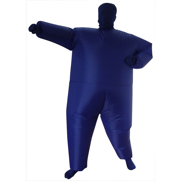 Inflatable Plain Blue Fancy Dress Costume