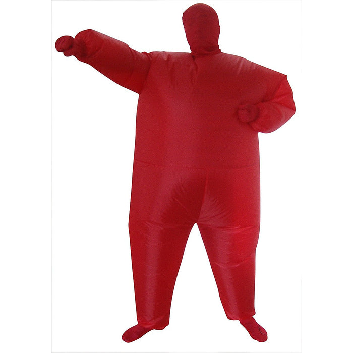 Inflatable Plain Red Fancy Dress Costume