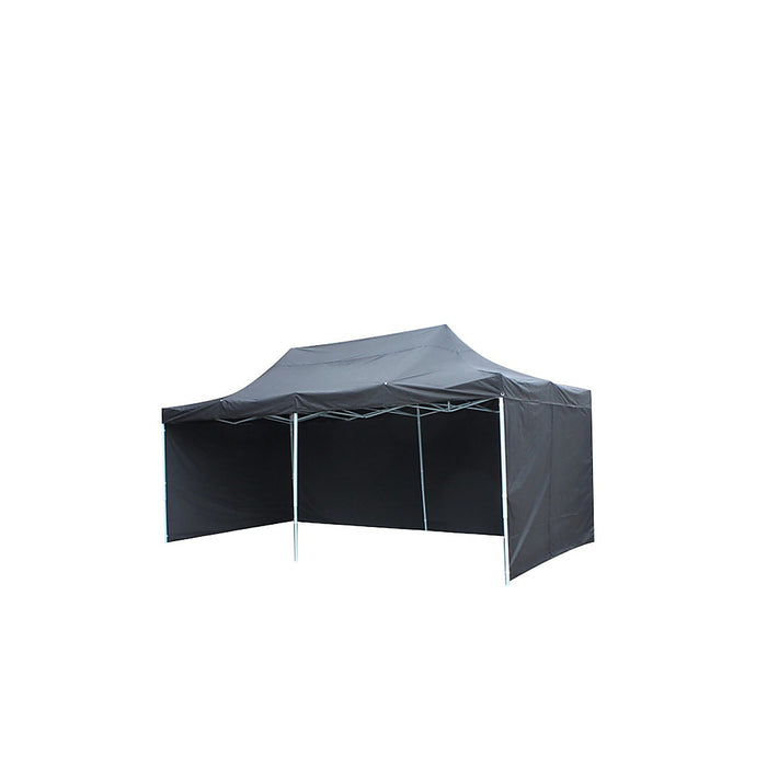 3x6m Popup Gazebo Party Tent Marquee - Black