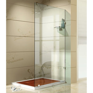 1000 x 1000mm Walk In Wetroom Shower System By Della Francesca