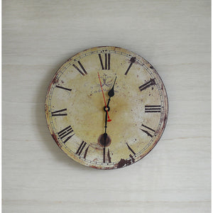 Large Vintage Wall Clock Kitchen  Office Retro Timepiece