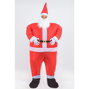 Santa Fancy Dress Inflatable Suit -Fan Operated Costume