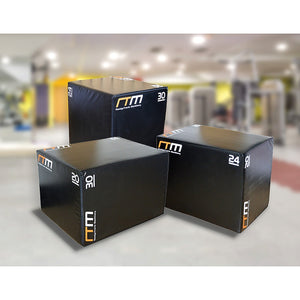 3 IN 1 Foam Plyo Games Plyometric Jump Box