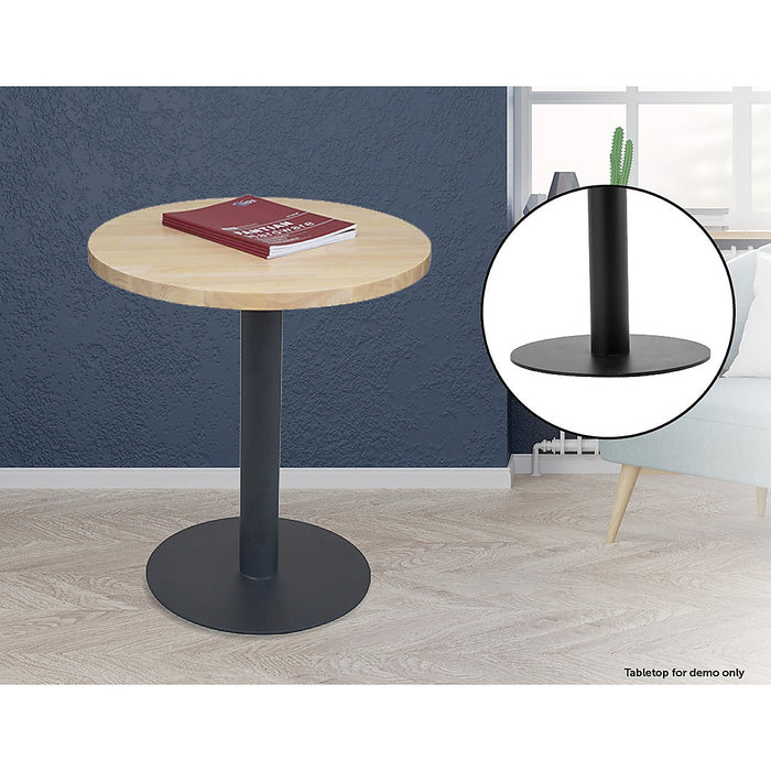Steel Round 45cm Restaurant Cafe Office Table Base Leg