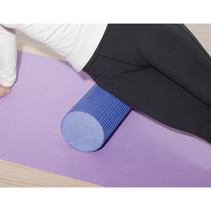 45 x 15cm Physio Yoga Pilates Foam Roller - Blue