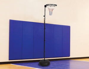 Netball Ring with Stand Portable Pole Height Adjustable