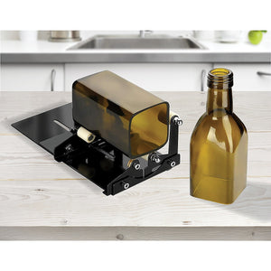 Glass Bottle Cutter Cutting Tool Upgrade Version Square & Round Bottle Cutter