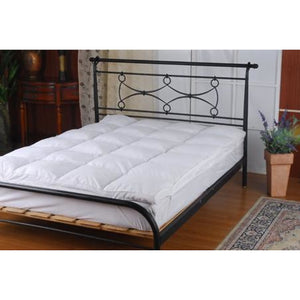 100% White Goose Feather Mattress Topper - King Single