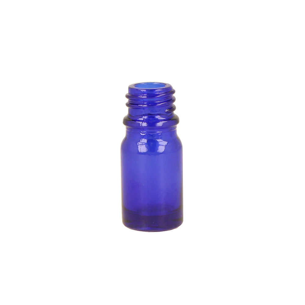 5ml Blue Glass Dropper Bottle