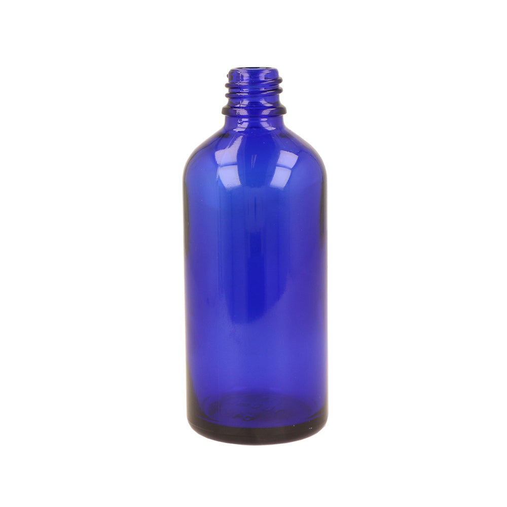 100ml Blue Tall Dropper Bottle
