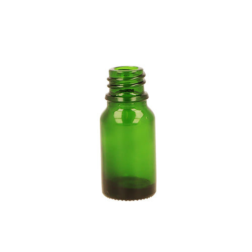 Green Glass Dropper Bottle