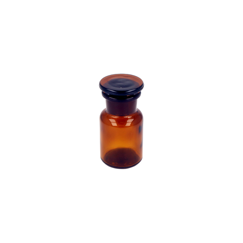 Reagent Bottle (50ml Amber with Stopper)