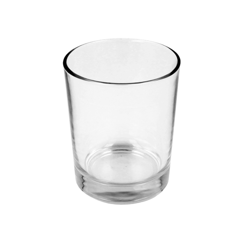 10cl Clear Conix Candle Glass