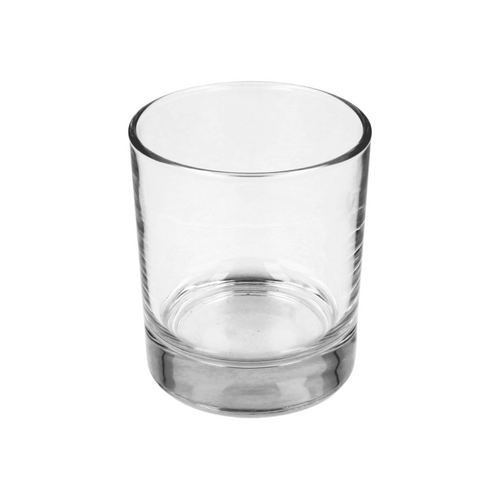 30cl Clear Karen Candle Glass