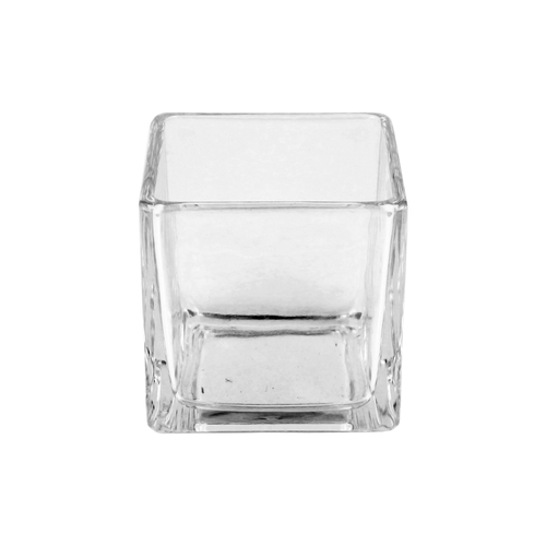 25cl Square Candle Glass