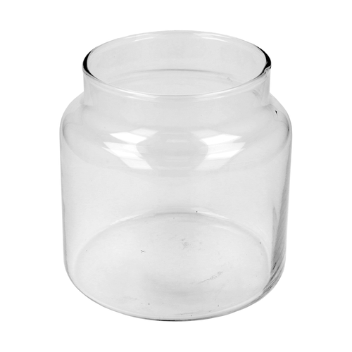 500ml Clear Medium Classic Candle Jar