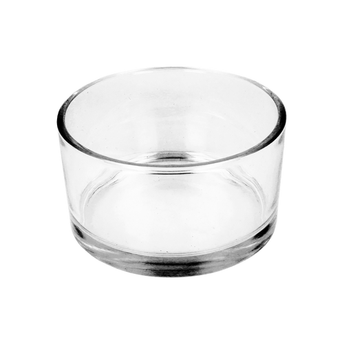 50cl Clear Tub Candle Glass