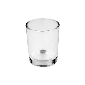 4cl Clear Stockholm Candle Glass