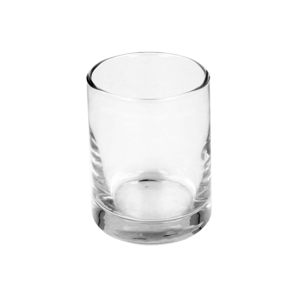Clear Candle Glass