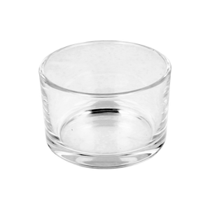 10cl Clear Travel Candle Glass
