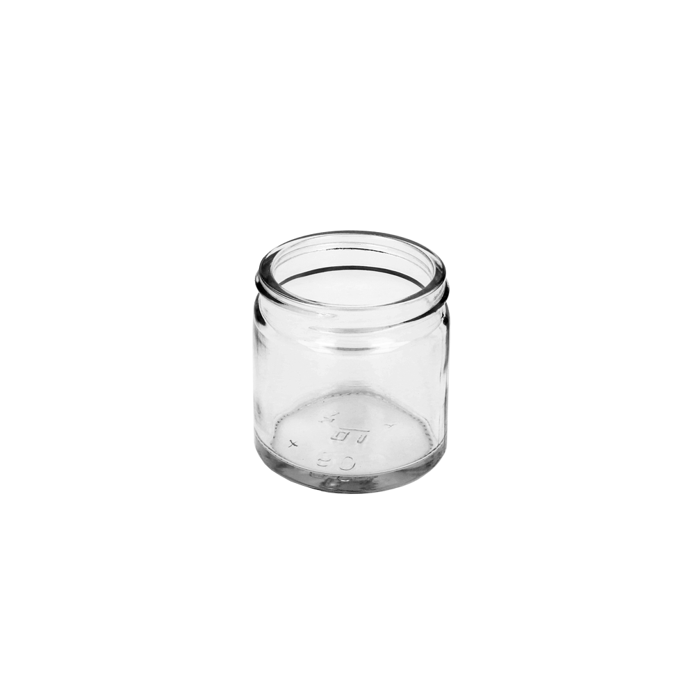 60ml Clear Squat Jar