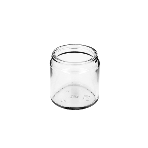 Glass Squat Jar
