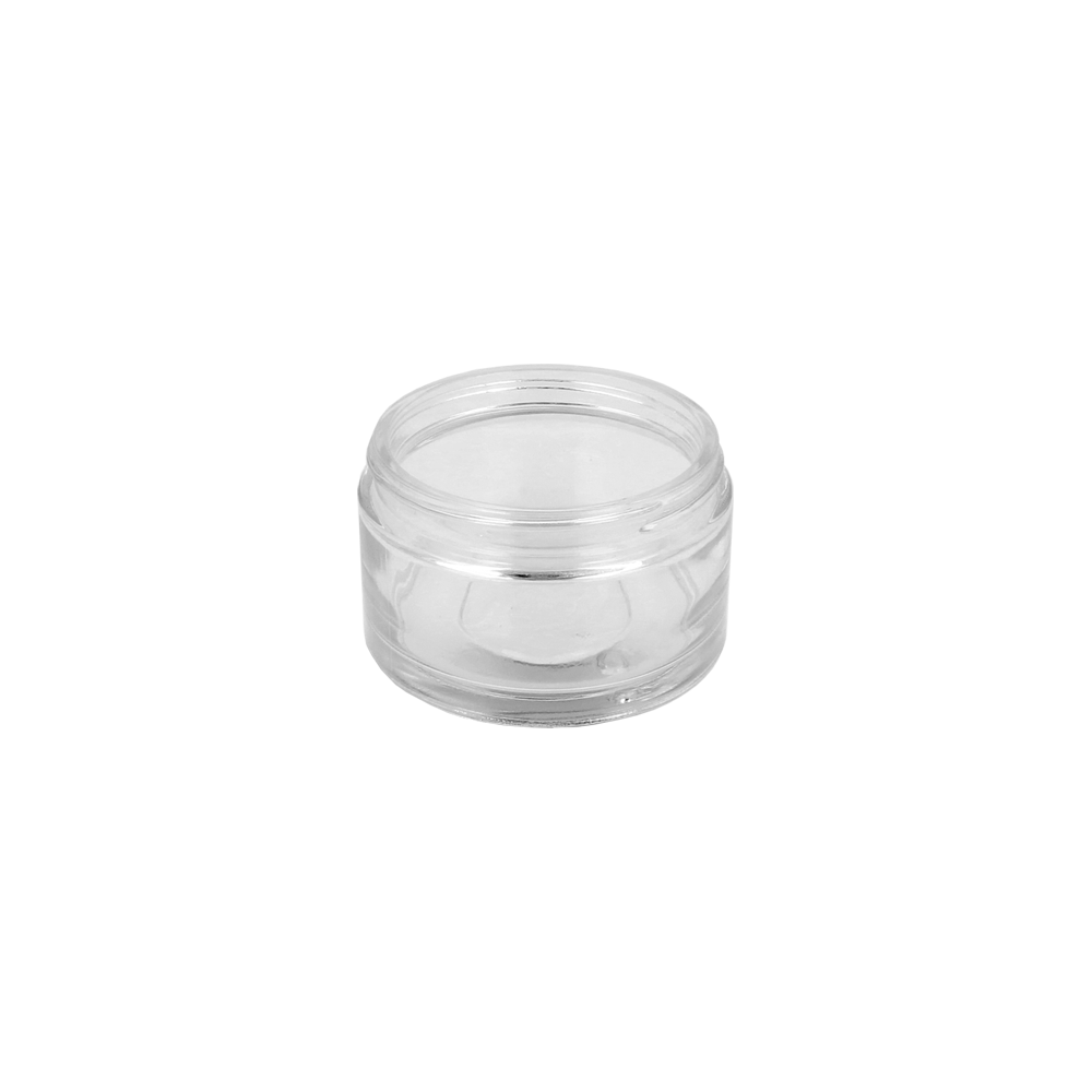 30ml Clear Glass Cosmetic Palladio Jar (51R3)