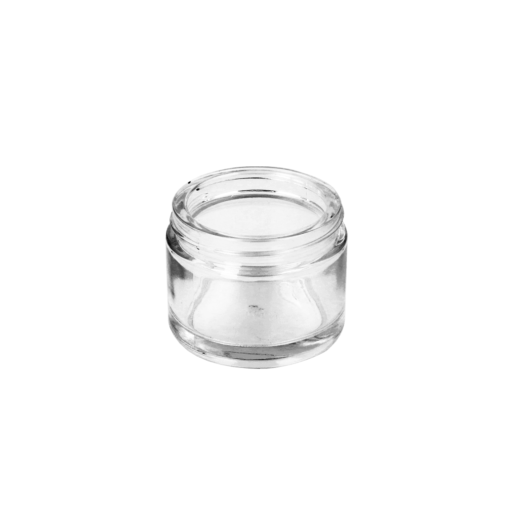 Glass Cosmetic Jar