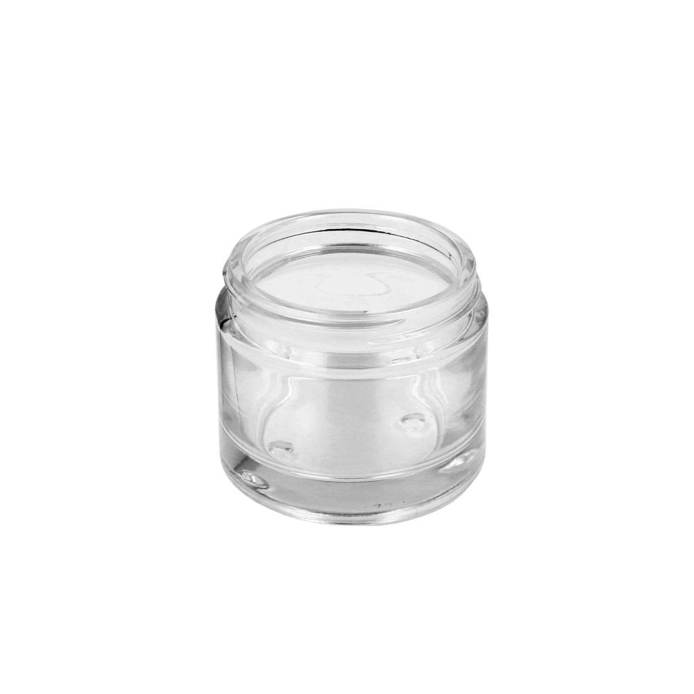 60ml Clear Glass Cosmetic Jar (58R3)