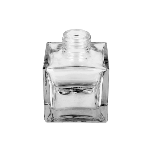 100ml Clear Square Diffuser Bottle