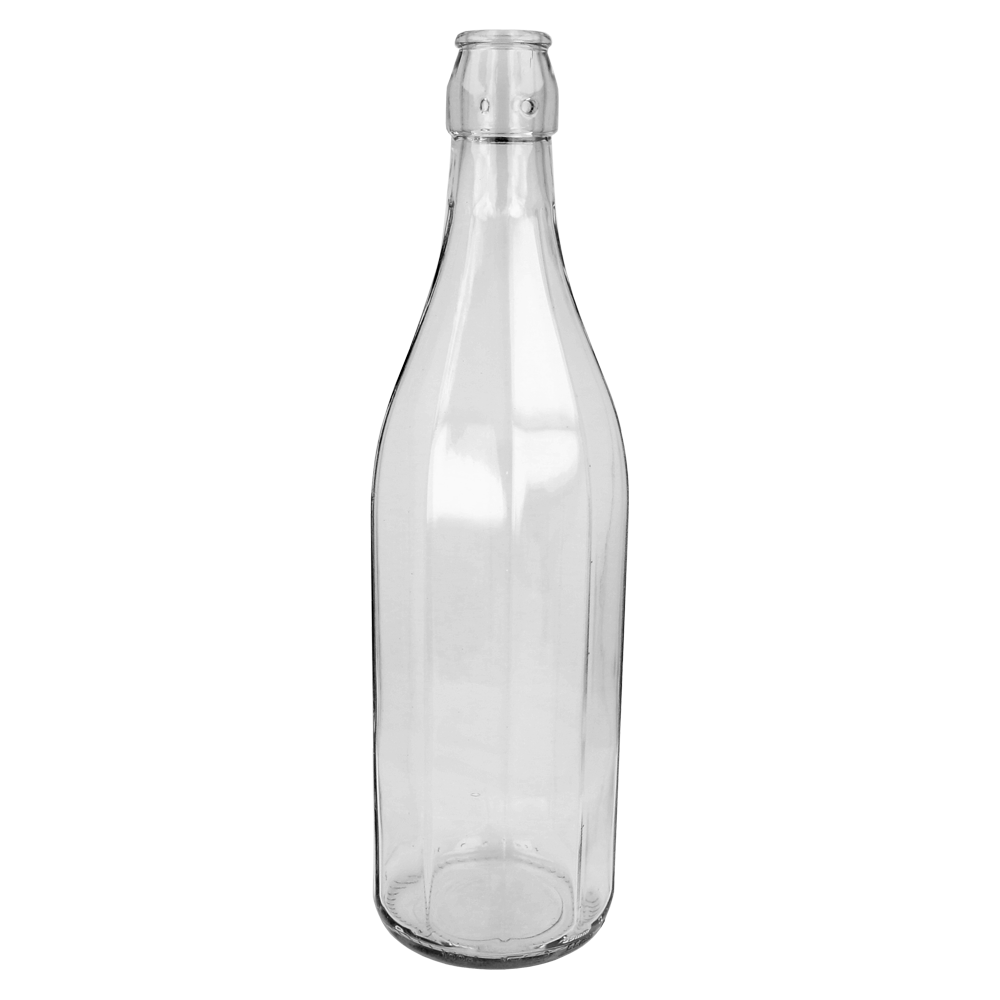 Clear Glass Costalata Bottle