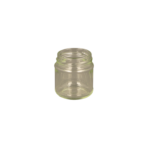 Glass Round Jar