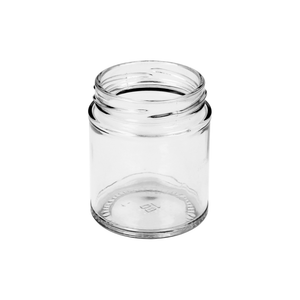 190ml Clear Round Jar