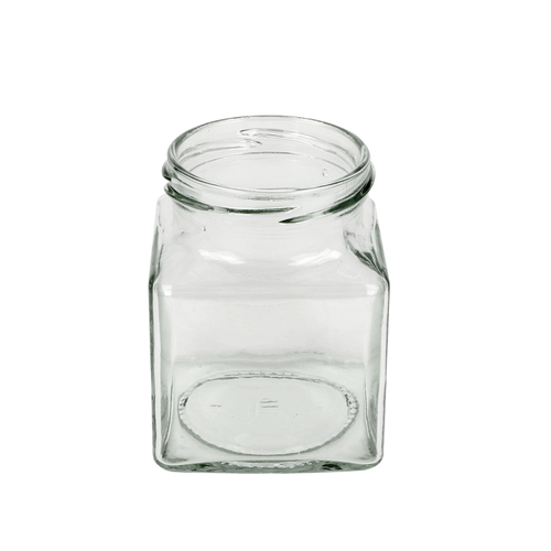 Square Glass Jar