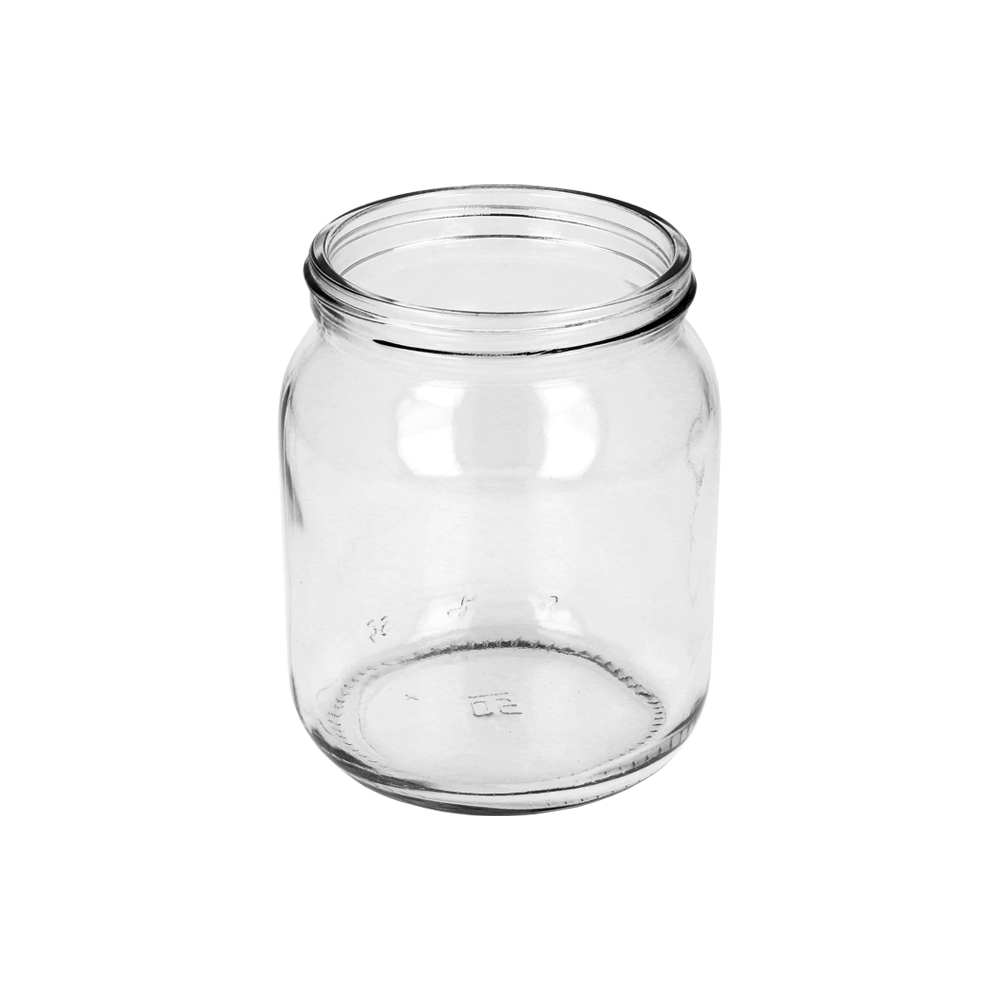 Glass Honey Jar