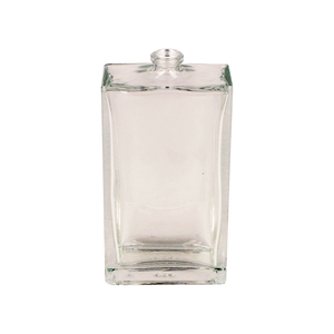 Clear Glass Rectangle Everest Bottle