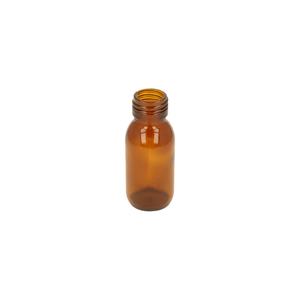 60ml Amber Glass Alpha Bottle