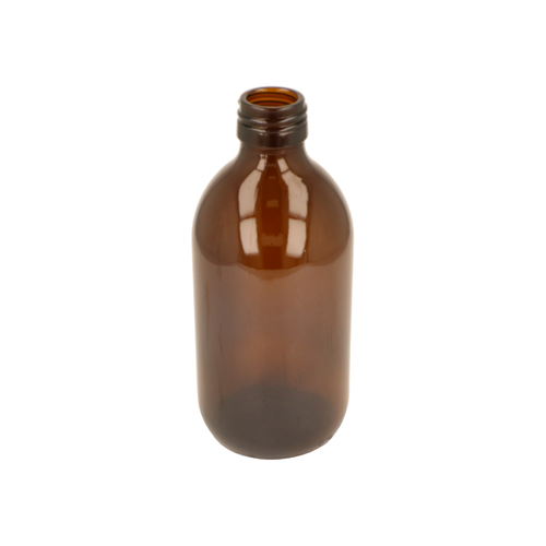 300ml Amber Glass Alpha Bottle