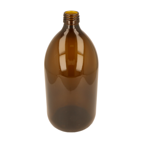 1000ml Amber Alpha Bottle