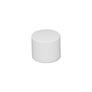White Short Rollette Cap