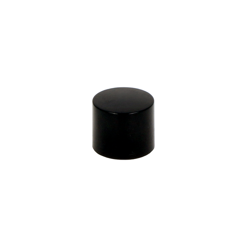 Black Short Rollette Cap